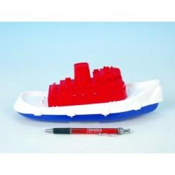 Loď/Člun rybářská kutr plast 26cm