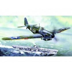 Model Fairey Fulmar MK.I/MK.II 17x19,6cm v krabici 25x14,5x4,5cm