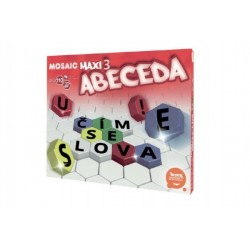 Mozaika Maxi/3 Abeceda 110ks v krabici 35x29x7,5cm 4+