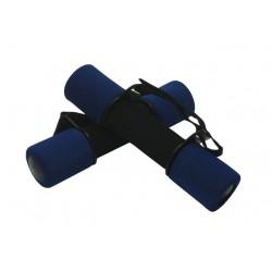 Aerobikové molitanové činky 2 x 1kg