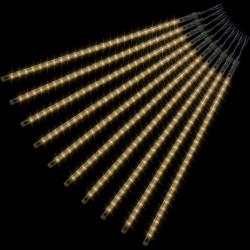 Vianočné LED osvetlenie - padajúci sneh - 480 LED teplá biela