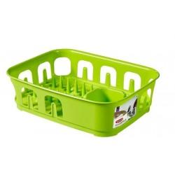 Odkapávač nádobí ESSENTIALS obdélník - zelený CURVER