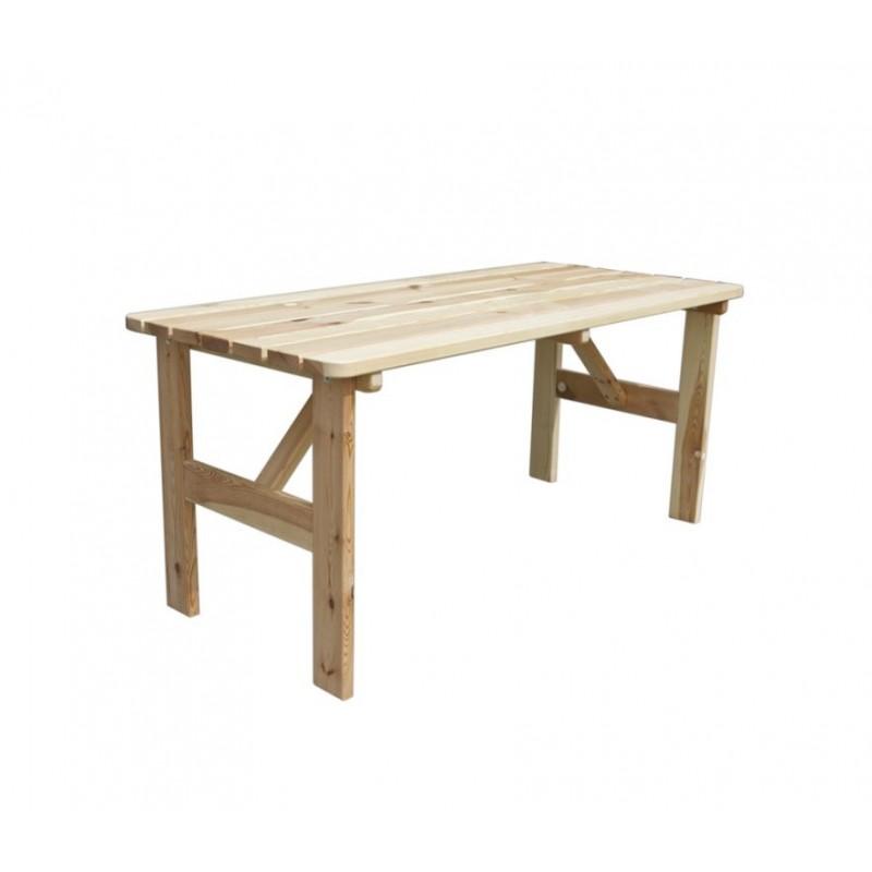 caaae7b4d637 Záhradný drevený stôl VIKING - 150 cm