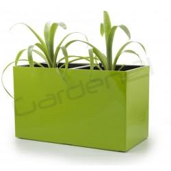 Samozavlažovací kvetináč G21 Combi zelený 56x28cm