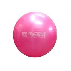 Gymnastická lopta 65 cm ružová