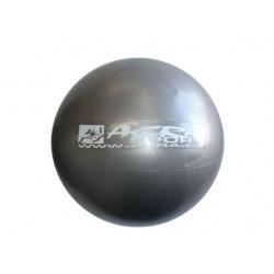 Lopta OVERBALL 30 cm, strieborná