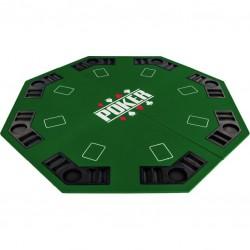 Skladacia pokerová podložka - zelená