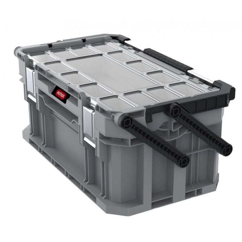 14e06ae30062d Úložný box na náradie s organizérom CONNECT
