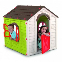 Detský hrací domček RANCHO PLAYHOUSE - zelený