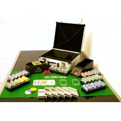 Poker set 600 ks žetónov OCEAN s príslušenstvom