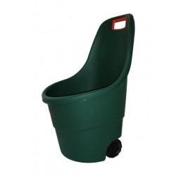 Záhradný plastový vozík EASY GO - 55L zelený