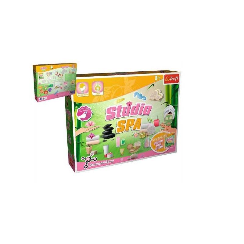 Lázně vědecká hra 21 pokusů Science 4 you v krabici 38x29x8cm