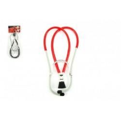 Stetoskop doktorský plast 26cm v sáčku