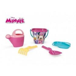 Sada na písek Minnie plast 5ks 25x18cm v síťce 12m+ Wader
