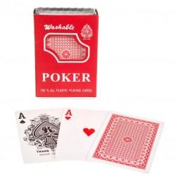 Pokerové karty 100 % plast - 1 ks