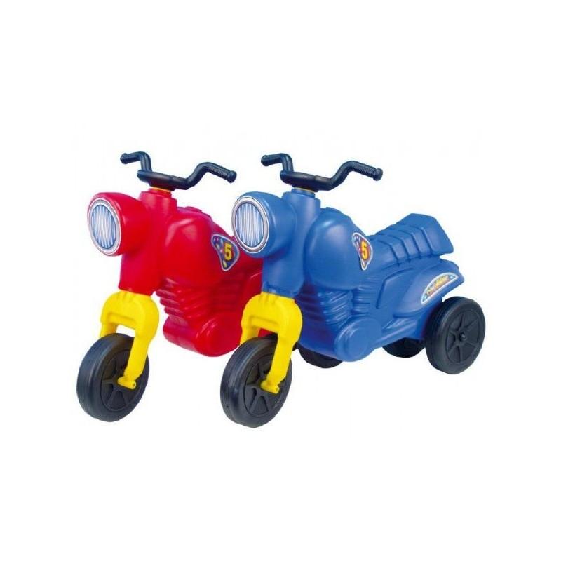 Odrážedlo CLASSIC Motor plast výška sedadla 31cm nosnost do 50kg asst 2 barvy od 3 let