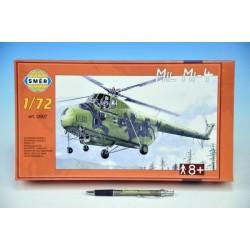 Model Vrtulník Mil Mi-4 v krabici 34x19x5,5cm