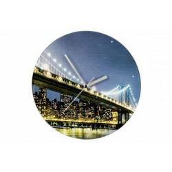 Nástenné hodiny WENKO 27 cm - Brooklyn Bridge