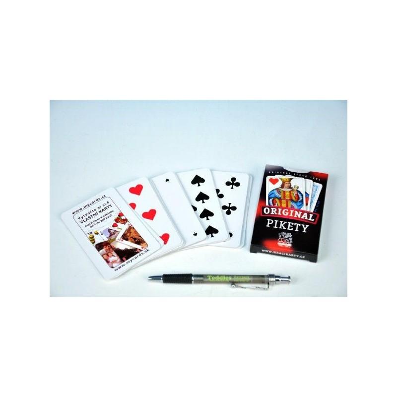 Karty Pikety 32ks v krabičce 7x11cm
