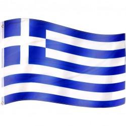 Vlajka Grécko - 120 cm x 80 cm