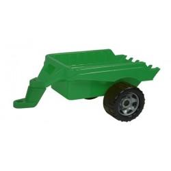 Přívěs vozík vlečka za traktor plast 50x20x27cm
