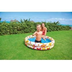 Bazén nafukovací 2 komory 122x25cm v sáčku