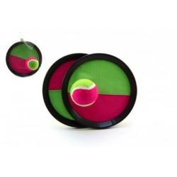 Lambáda/Catch ball hra s míčkem 19cm v síťce