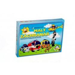 Malý záchranář společenská hra na baterie v krabici 22x16x3cm