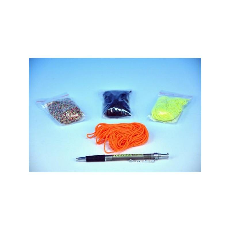 Náhradní provázky pro Jojo 10ks v sáčku 110cm asst 7 barev