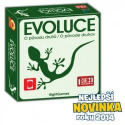 Evoluce - O původu druhů společenská hra v krabici 19x19x5cm (Hra roku 2011)