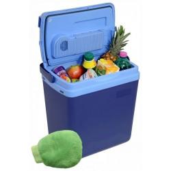 Chladiaci prenosný box - 25 L, modrý