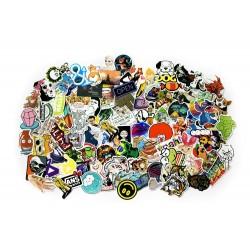 Sticker bomb - Sada samolepiek, mix 100 ks