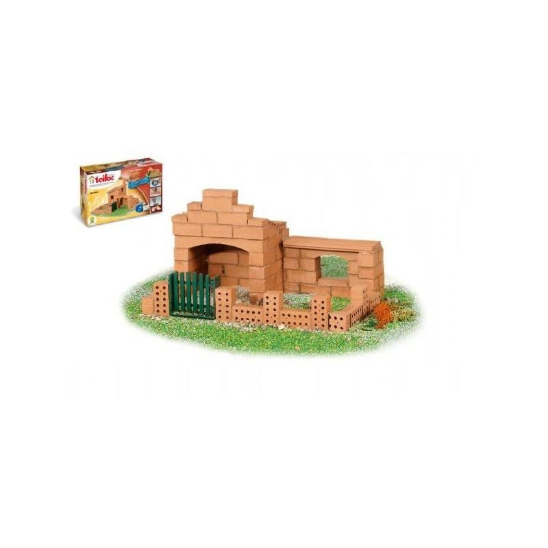 Stavebnice Teifoc Domek Sergio v krabici 29x18x8cm