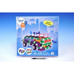 Stavebnice Seva City 1 plast 490ks v krabici 35x33,8x8cm