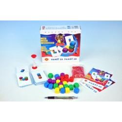 Paměť 3D společenská hra v krabici 20x18,5x5,5cm