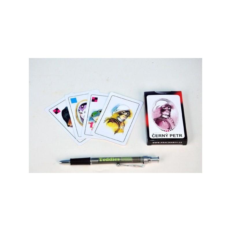 Černý Petr společenská hra karty v papírové krabičce 6x9cm