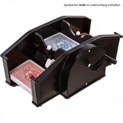 Mechanická miešačka kariet, čierna