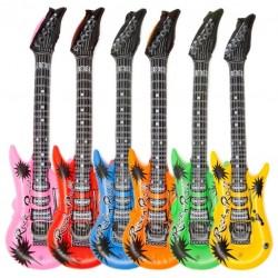 Nafukovacia gitara v Rock&apos n Roll štýle