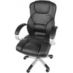 Kancelárska stolička ergonomická, syntetická koža