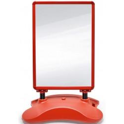 Reklamný stojan, červený, 635 x 1150 x 350 mm