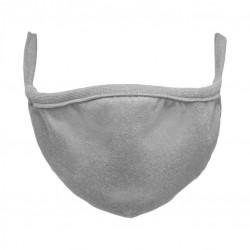 Bavlnené rúško dvojvrstvové - sivé, 2 ks