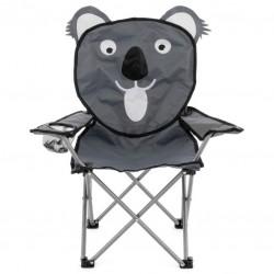 Detská skladacia kempingová stolička - motív koala