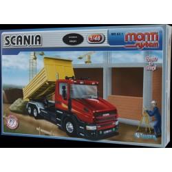 Stavebnice Monti 62.1 Scania  1:48 v krabici 32x20,5x7,5cm