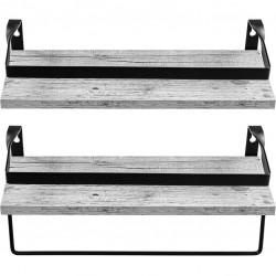 STILISTA Set 2 ks nástenných políc Volato Duo, 40 cm, biele
