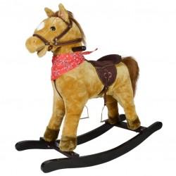 Hojdací kôň Morgan so zvukovými efektmi, 74 x 30 x 64 cm