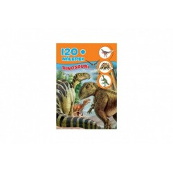 Pracovný zošit Dinosaury + 120 nálepiek
