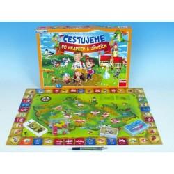 Cestujeme po hradech a zámcích společenská hra v krabici 43x30x5,5cm