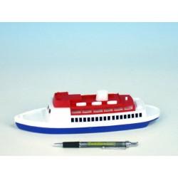 Loď/Člun - Parník oceánský plast 26cm