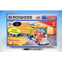 Stavebnice Monti 64 Blackwood Western star 1:48 v krabici 32x20,5x9cm