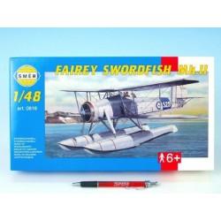 Model Fairey Swordfish Mk.2 26,4x29cm v krabici 34x19x5,5cm